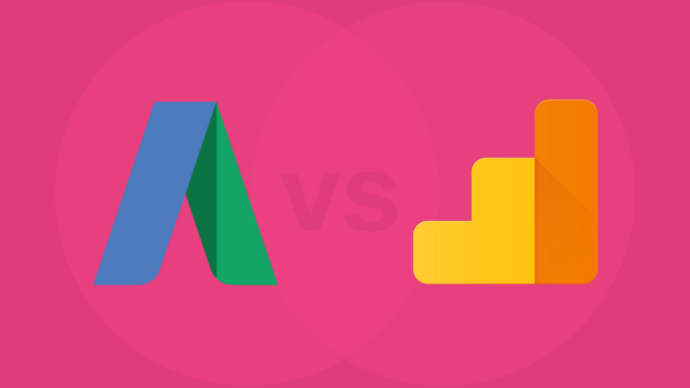 Google AdWords icon vs Google Analytics icon