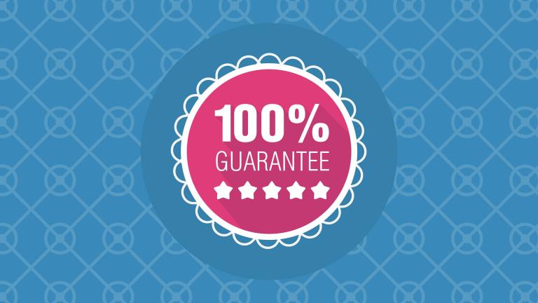 100% Guarantee, 5 Stars!