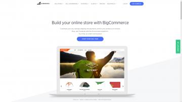 BigCommerce.com homepage