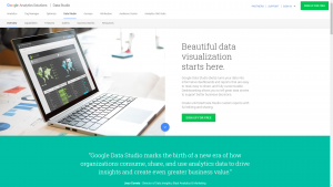 DataStudio homepage