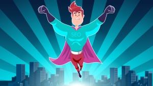 SEO super hero