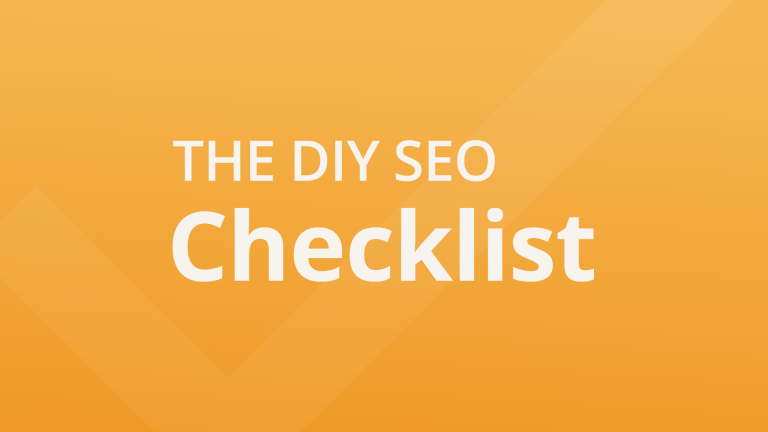 They DIY SEO Checklist