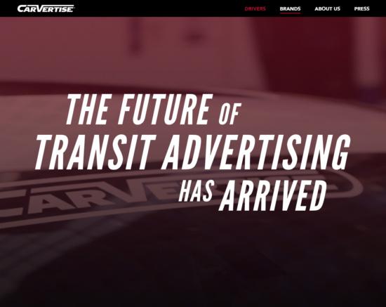 carvertise.com/brands/ screenshot