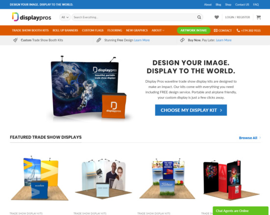 displaypros.net screenshot